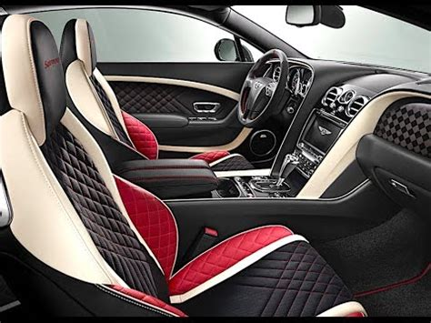 bentley continental supersports interior  review