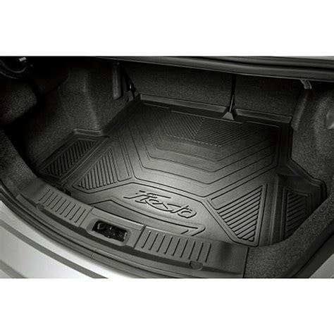 ford fiesta st trunk cargo protector liner mat