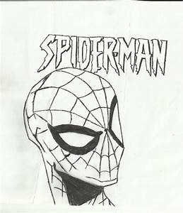 Best Photos of Spider-Man Face Drawing - How to Draw ...