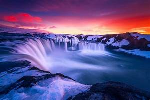 Waterfall, Backgrounds, 62, Images