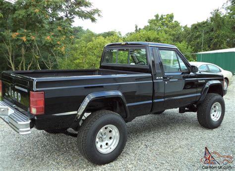 1988 lifted jeep comanche 1988 jeep comanche base standard cab pickup 2 door 4 0l