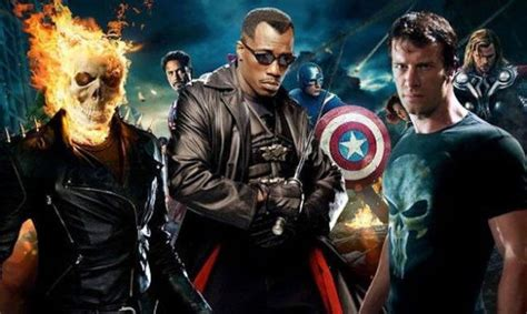 marvel owns screen rights  ghost rider blade