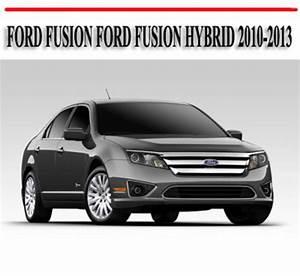 Encontr U00e1 Manual  Owners Manual For Ford Fusion 2010