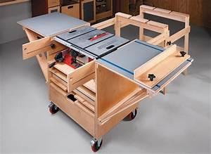 Build A Table Saw Workstation Designer Tables Reference