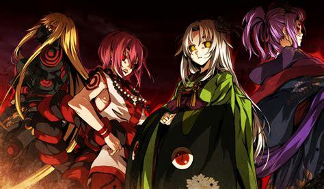 kajiri kamui kagura cg art zerochan anime image board