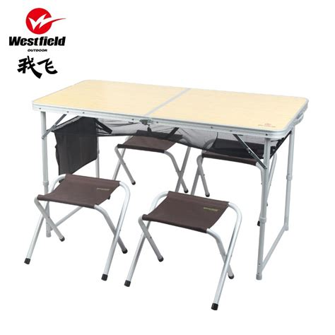 outdoor portable folding tables and chairs set picnic