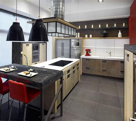 cuisine bois design une cuisine en bois très design inspiration cuisine le