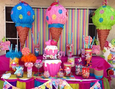candy birthday candy land catch  party