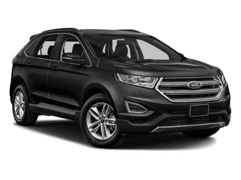ford crossover black new 2018 ford edge sel suv in the milwaukee area 18fe0418