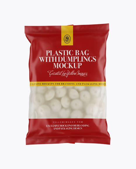 Bags and totes come in handy for a variety of purposes in the business world. Free PSD Mockup Frosted Plastic Bag With Dumplings & Matte ...