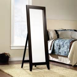 floor mirror in bedroom jaclyn smith espresso wood standing floor mirror shop your way online shopping earn points