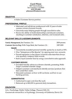 resume page and marketing on