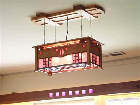 mackintosh ceiling light stained glass arts and crafts