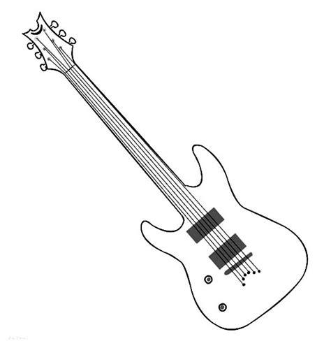 guitar coloring page bltidm