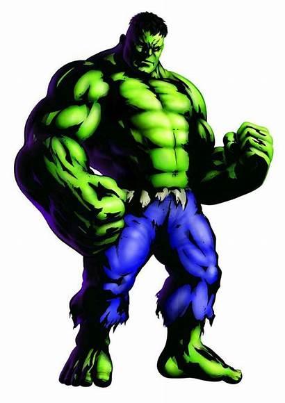 Hulk Marvel Vs Capcom Mvc3 Character Incredible