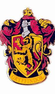 Harry Potter Movie Memorabilia: Gryffindor Crest Pin