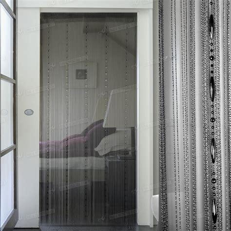 string door window curtain divider room windows blind