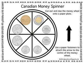 canadian money freebie canadian homeschool money math