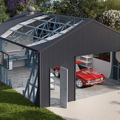 Stud Frame Sheds by Steel Garages The Shed Company