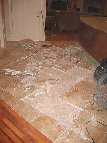 Kitchen Tile Floor Repair  Flickr  Photo Sharing