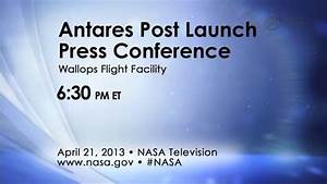 GMS: Antares Rocket Launches from Wallops Flight Facility