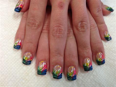 tiger stripe fun nail art designs  top nails