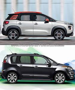 2017 Citroen C3 Aircross Vs  2012 Citroen C3 Picasso Profile