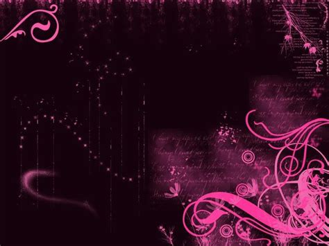 Pink And Black Wallpaper Designs 1 Cool Hd Wallpaper