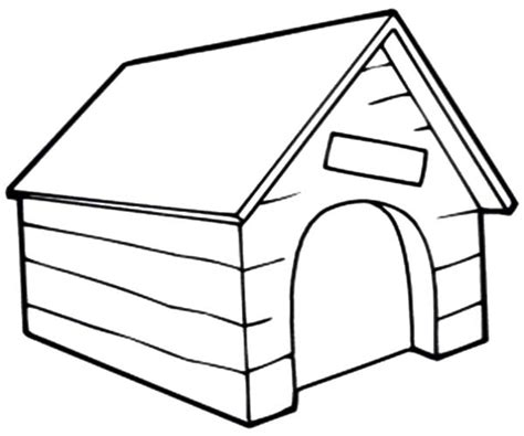 doghouse drawing  getdrawingscom   personal  doghouse drawing   choice