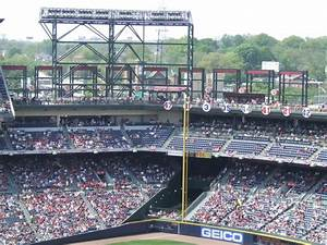 Braves Seating Chart View Turner Field Atlanta Braves Ballpark Ballparks Of Baseball