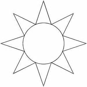 sun template 17 best images about craft templates printables on crafts stencils and digital