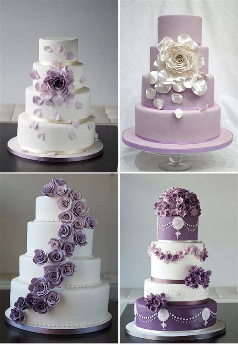 Beautiful Cake Pictures Beautiful Assorted Purple