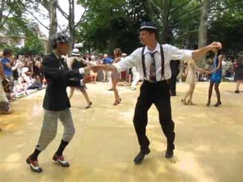 dandy guys swing dancing   jazz age lawn