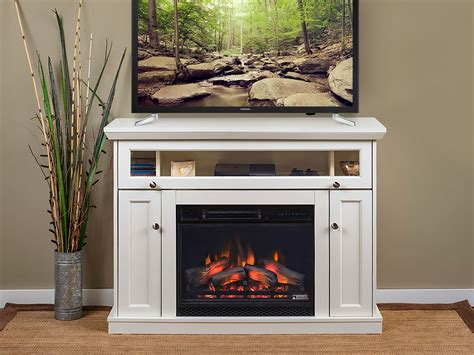 windsor cabinet white  infrared firebox de