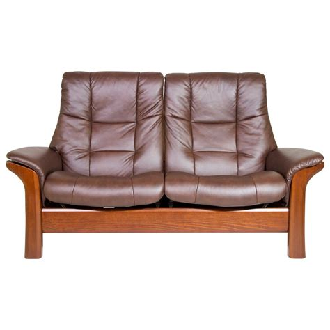High Back Reclining Sofa by Stressless Buckingham High Back 2 Seater Reclining