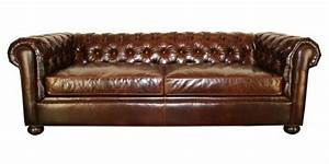 Sofa Chesterfield Style : chesterfield style tufted leather sofa club furniture ~ Cokemachineaccidents.com Haus und Dekorationen