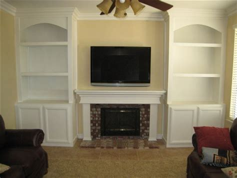 bookcases next to fireplace bookshelves around fireplace great property backyard in