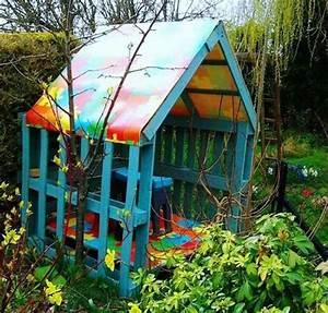 Palette Bois Pas Cher : maisonnette en bois enfant 60 jolies demeures pour les ~ Premium-room.com Idées de Décoration