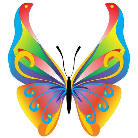 free clipart graphics free butterfly clip floral butterfly free vector