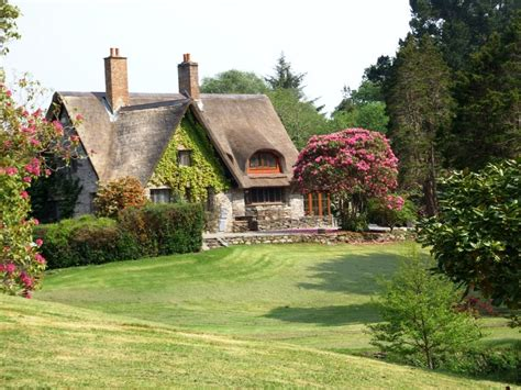 A Thatched Roofed Irish Cottage House Crazy