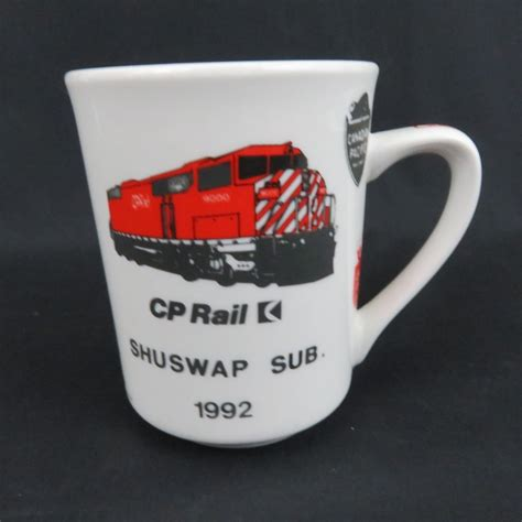 cool canadian pacific coffee mug featuring