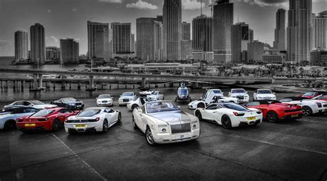 Our Fleet Of Exotic Cars And Luxury Cars At Luxury Car