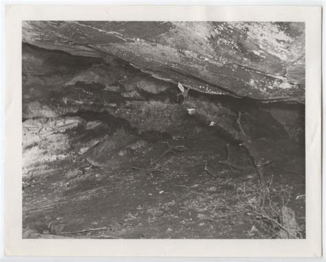 Scenes Of The Dry Creek Cave Woodson County Kansas