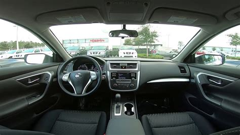 nissan altima  interior youtube