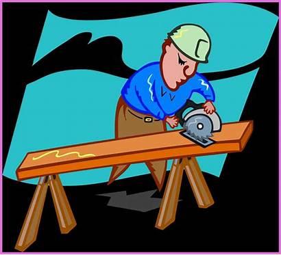 Clipart Carpenter Wood Woodshop Clip Woodwork Woodworking