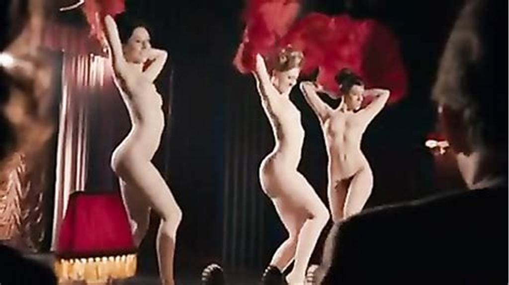 #Cabaret #Performers #Get #Naked #And #Dance #On #The #Stage