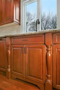 Designing with Cherry Cabinets Brick New Jersey by Design