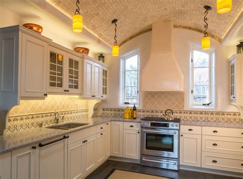 kitchen marble backsplash rustic elegance santa fe nm mediterranean kitchen 2289