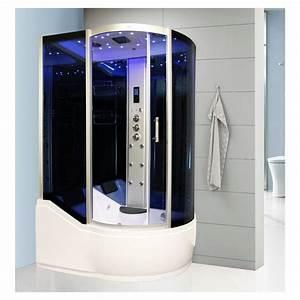 Baignoire Douche Balneo : baignoire douche hammam dreamcab 150 gauche ~ Melissatoandfro.com Idées de Décoration