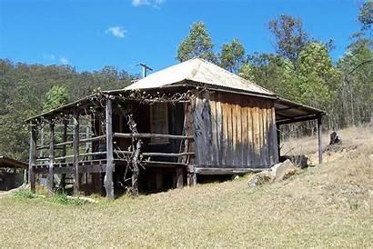 Hut Slab Wollombi Homes Australian Settlers Early